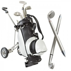 Pennenstandaard model golftrolley