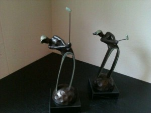 Golf Sculpturen
