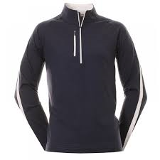 FJ Chill-Out Pullover Navy White