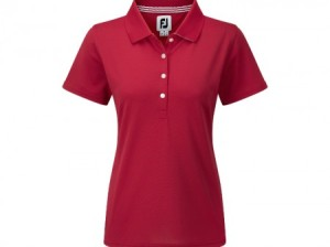 FootJoy Stretch Pique Women polo - Red