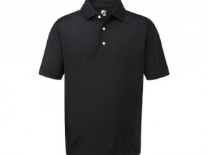FootJoy Pique Solid polo black
