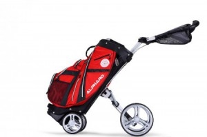 Alphard Golf Duo Cart rood