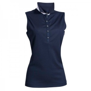 Backtee Ladies Performance Polo Top - Navy