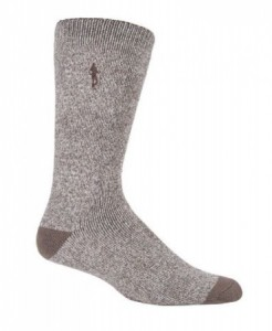 Glenmuir Heat Holders Thermal Golf Socks men - stone