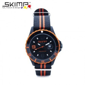 SKIMP Horloge Courageuse - Orange