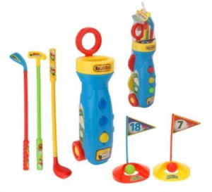 Junior Golf Set Legend (plastic)