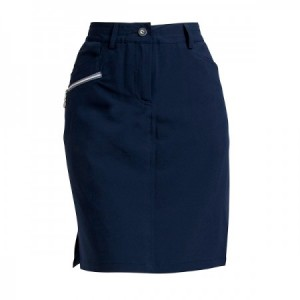Backtee Ladies Performance Skort - Navy