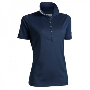 Backtee Ladies Performance Golf Polo, Navy