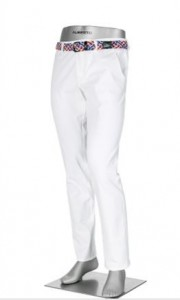 Alberto Rookie Regular Slim Fit - White