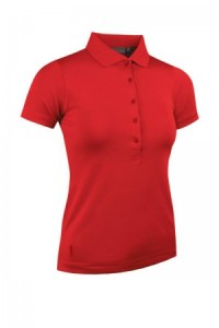 Glenmuir Performance Pique Polo - Red