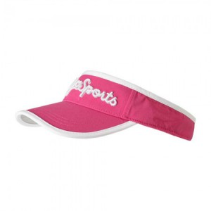 Daily Sports Logo Visor - Pink