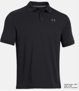 Under Armour Herenpolo Performance - black