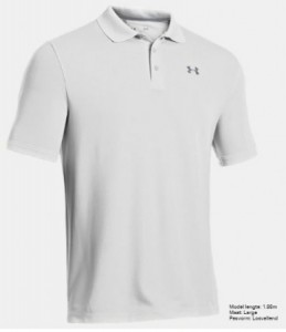 Under Armour Herenpolo Performance - white