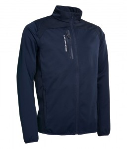 Abacus mens Arden Softshell Jacket - Navy