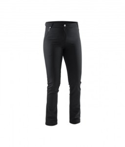 Abacus Lds Sola Softshell Trousers - black/print