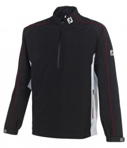Footjoy Dryjoy Performance Light Rain Shirt - Black