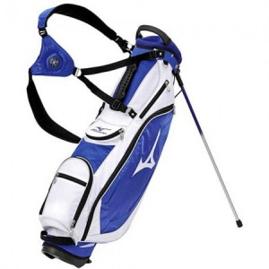 Mizuno Golf World Slim Stand Bag - staff blauw