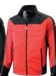 Mizuno Wind Fleece Jacket - red
