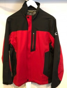 Mizuno Impermalite Performance Shell Jacket - Black/Red