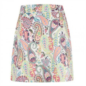 Golfino Holiday Dreams Paisley Skort
