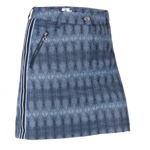 Daily Sports - Milou Wind Skort - navy print