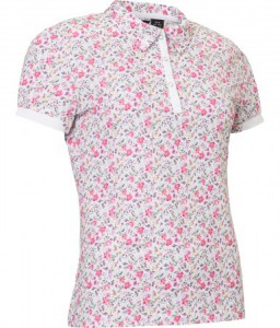 Abacus Lds Cherry polo - Flora