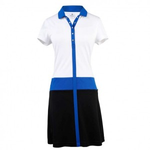 Daily Sports - Leyla caps dress - white/ultra blue