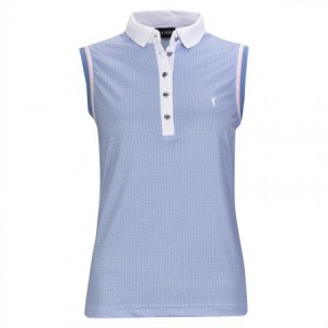 Golfino sleeveless polo - Palm Beach