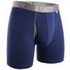 2UNDR Swing Shift Boxer Brief - Navy/Grey