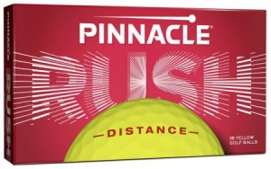 Pinnacle Rush golfballen - geel