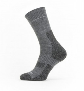 Sealskinz Solo Quickdry Ankle Length Sock - Grey