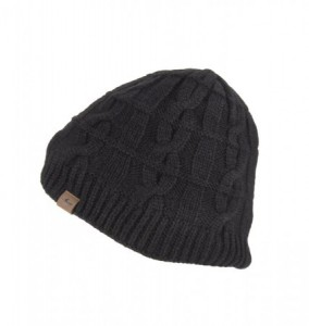 Sealskinz Waterproof Cable Knit Beanie - black