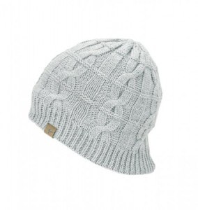 Sealskinz Waterproof Cable Knit Beanie - grey marl