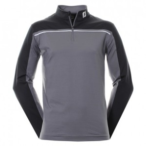 FootJoy Chill-out Chest piped - grijs/zwart