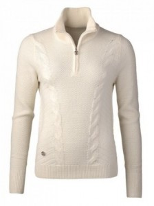 Daily Sports - Cattie Lined Pullover - Ivory
