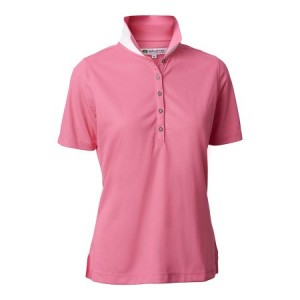 Backtee Ladies Performance Polo - Pink Lemonade