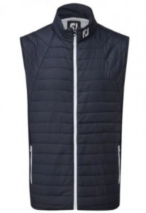 FootJoy Thermal Quilted Vest - Navy with White