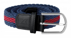 Cutter & Buck Skagit Belt - navy/red