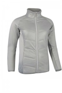 Glenmuir Front Pinstripe Quilted Performance Jacket - stardust