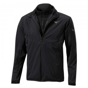 Mizuno 3-in-1 Jacket - Black