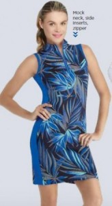 Tail Danville Dress - Frayed Frond